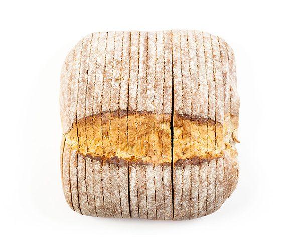 Pão de tosta inteiro fatiado - Saco 1 unidade