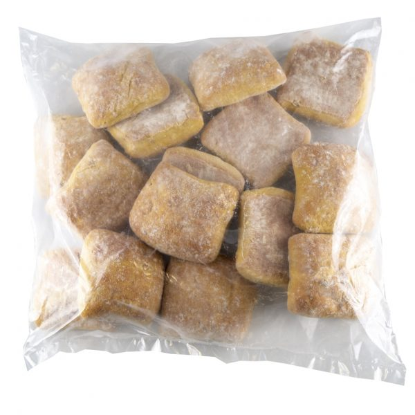 Pão abóbora e noz - Saco 15 unidades